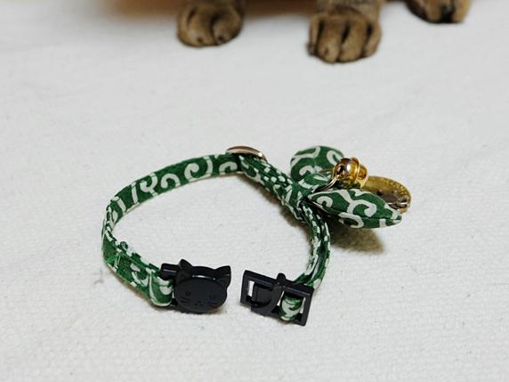 猫のセーフティ首輪