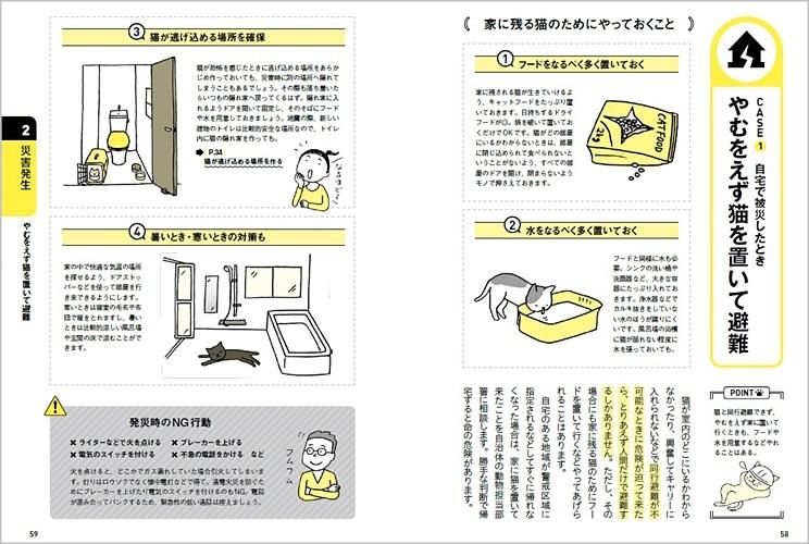 猫と一緒に生き残る防災BOOK_P58-59