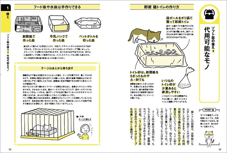 猫と一緒に生き残る防災BOOK_P22-23