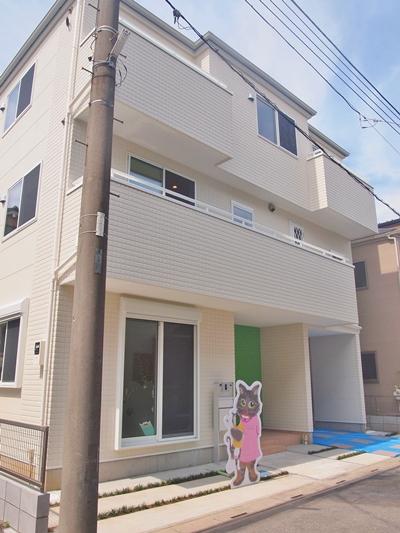 猫共生住宅ichineko外観