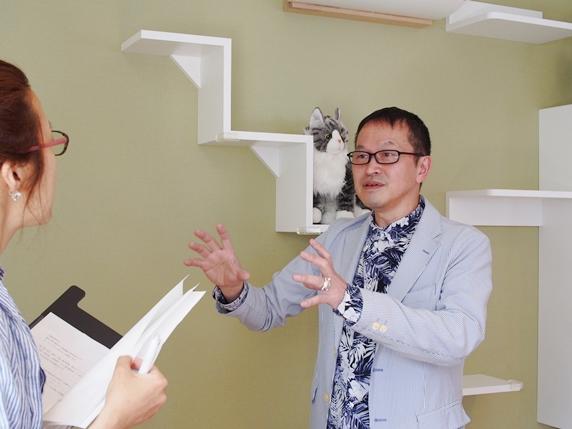 猫共生住宅ichinekoで語る建築士