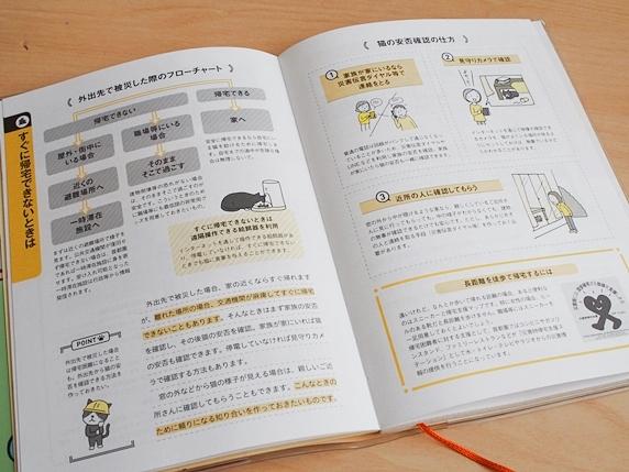 猫と一緒に生き残る防災手帳の情報ページ