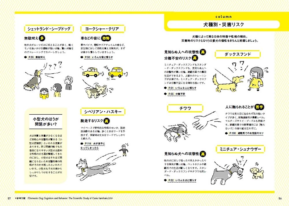 犬と一緒に生き残る防災BOOKP56-57