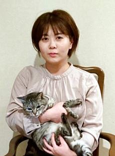 岩手大学総合科学研究科上野山怜子さん